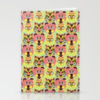Modular Lions And Tigers… Stationery Cards