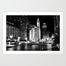 Wacker Ave Art Print