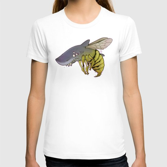 shark-bee T-shirt