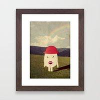 p i n c o Framed Art Print