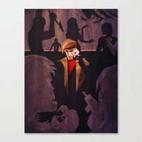 No Fool's Gambit Canvas Print