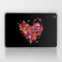 Heart1 Black Laptop & iPad Skin