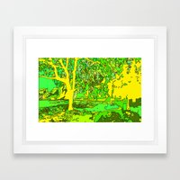 Park2 Framed Art Print