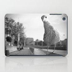 Inquisitive seagull iPad Case
