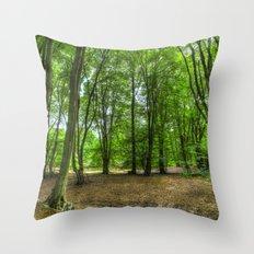 The Summer Forest Throw Pillow