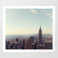 New York City - Empire State Building Art Print