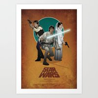 STAR WARS Poster Art Print