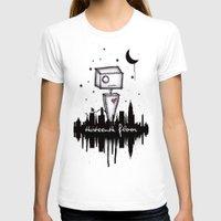 robot T-shirts featuring Robot by Thirteenth Floor