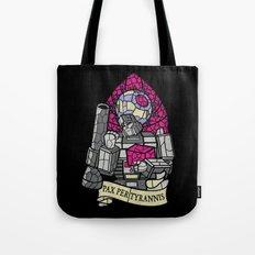 Pax Per Tyrannis Tote Bag