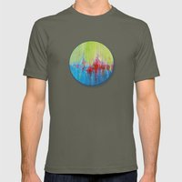 A Day At The Beach/Sonia… Mens Fitted Tee Lieutenant SMALL