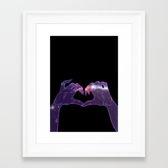 Don't Hate Me Cause You Ain't Me Framed Art Print