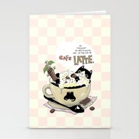Cafe Latte Stationery Cards