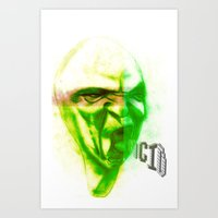 Acid Face Art Print