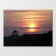 Sunset in Hilton Head Canvas Print