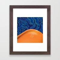 Tan Lines Framed Art Print