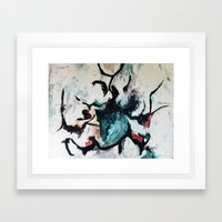 Untitled Abstract Framed Art Print