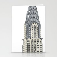 Scraper Series. New York… Stationery Cards