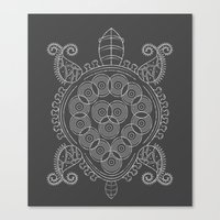 Pattern Tortoise  Canvas Print