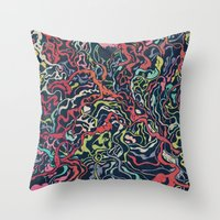 Junk Hearts Volume 2 Throw Pillow