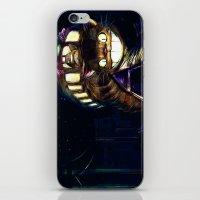 Cat Bus is In Your Town! Miyazaki Tribute Digital Fan Painting iPhone & iPod Skin