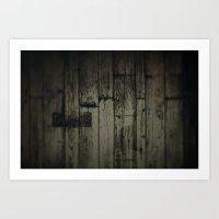 Dark wood Art Print