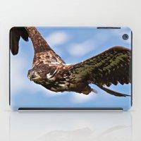 Flying Immature Bald Eag… iPad Case