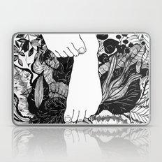 FLOWER FOOTERS Laptop & iPad Skin