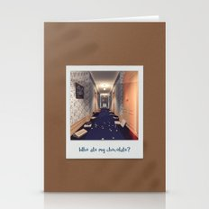 Who ate my chocolate? Stationery Cards