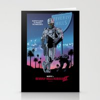 Beverly Hills Robocop 2 Stationery Cards