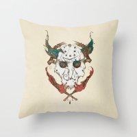 Jellyroll #13: Jason Throw Pillow