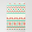 Festive Fair Isle Stationery Cards