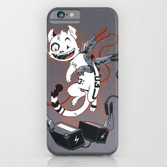 Cybercat Charges Up iPhone & iPod Case