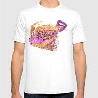Gummy Saucers -- Jelly C… Mens Fitted Tee White SMALL