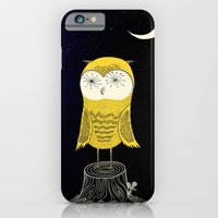 iPhone & iPod Case featuring Night Owl by R. Phillips