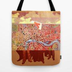 Paris People Tote Bag