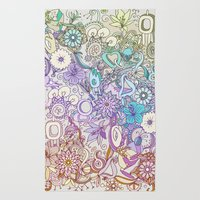Camtric world creatures Rug
