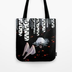Birch forest Tote Bag