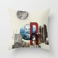 The Great Purge  Throw Pillow