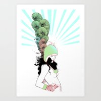 The Humps Art Print