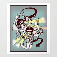 Hiros Art Print