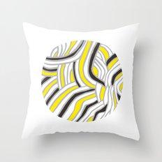 Circle Series #4 Throw Pillow