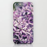iPhone & iPod Case featuring Vintage Purple Poppies  by Eric James Photography