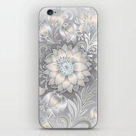 Shabby Flowers #2 iPhone & iPod Skin