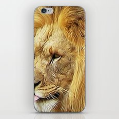 Thirsty Lion iPhone & iPod Skin