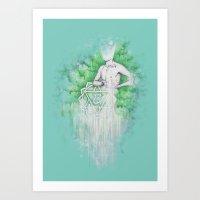 Love As Pain - Anahata I… Art Print