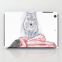 Wolf And I iPad Case