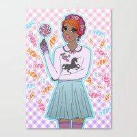 Sweeter Than Candy Canvas Print