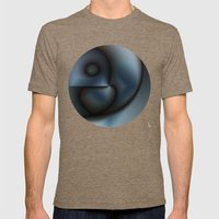 Graphical Expression I Mens Fitted Tee Tri-Coffee SMALL