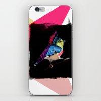 Neon Bird iPhone & iPod Skin