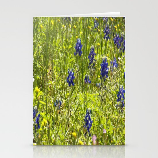 Texas Bluebonnets Stationery Card